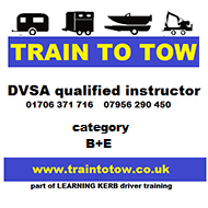 Train to Tow - DVSA Qualified Instructor